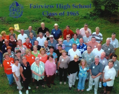 FHS Class of 1965 40th Reunion in 2005