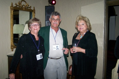 Nancy Marker '66, Don Moshos '66 and his wife Sue, attending the Class of '67 Reuinon in 2007