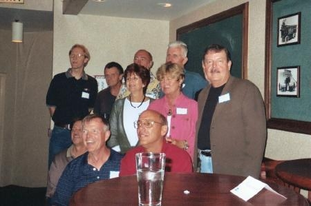 Class of '65 grads at their 40th Reunion in 2005. The reunion was held at a private club in Enon, Ohio,