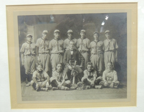 There is no date or  identification for this Fairview baseball team photo.  It appears to be circa early 1900's.  Pleas