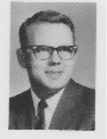 Mr. Reynolds, FHS faculty, photo from the 1965 yearbook
